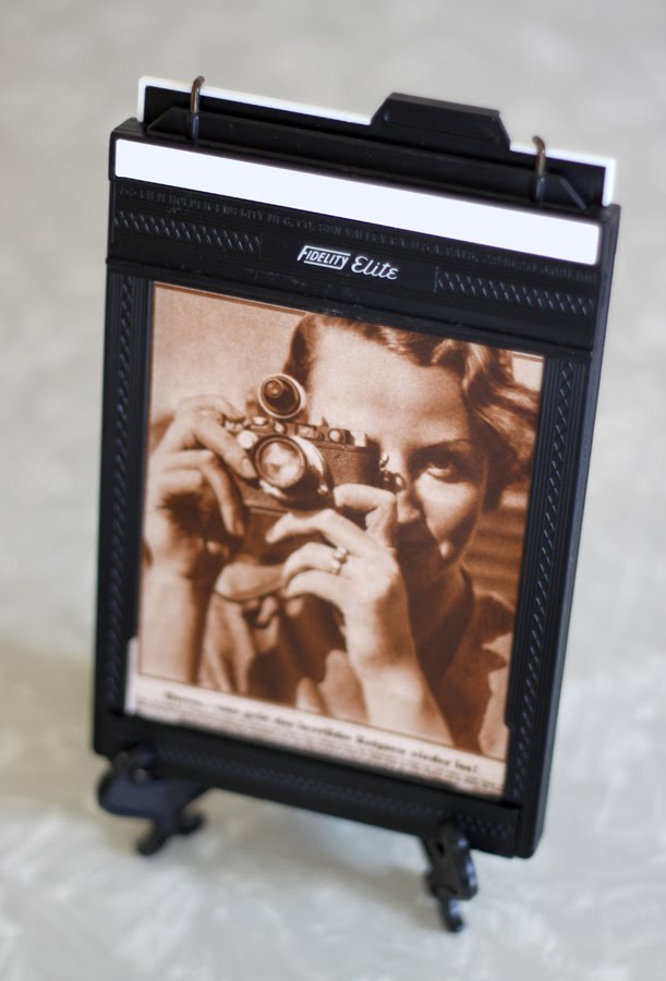 Film Holder to Photo Frame