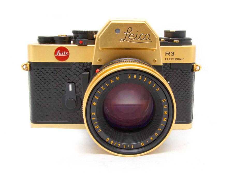 Gold Leica R3