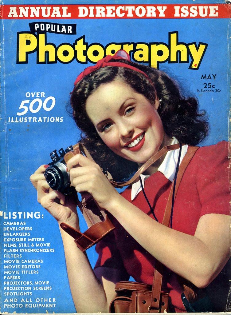 Vintage Camera Ads: Spring
