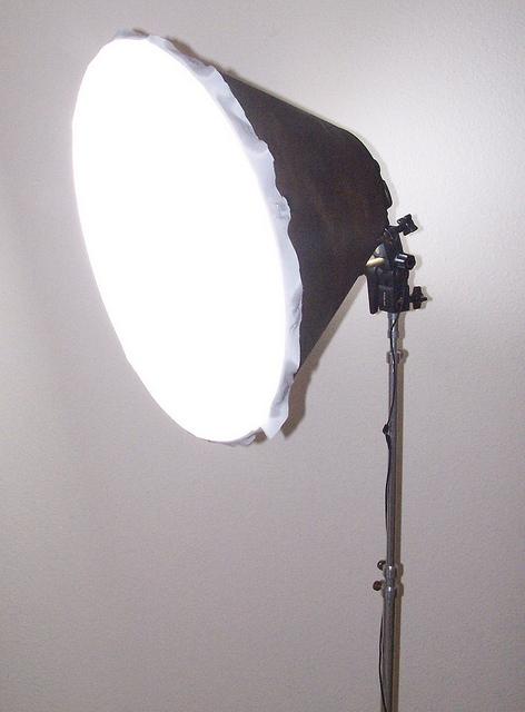 DIY Lampshade Softbox angle