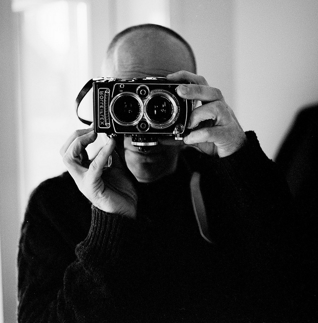 Self and Rolleiflex