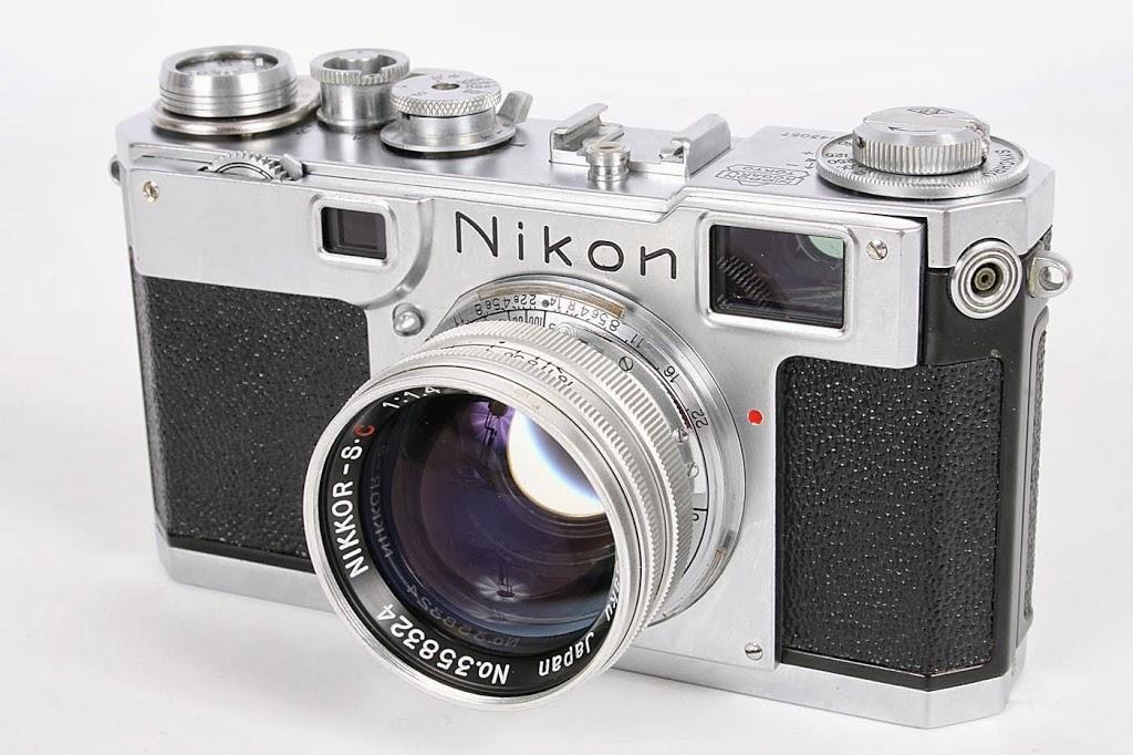 Nikon S2 and Rare Aluminum Lens