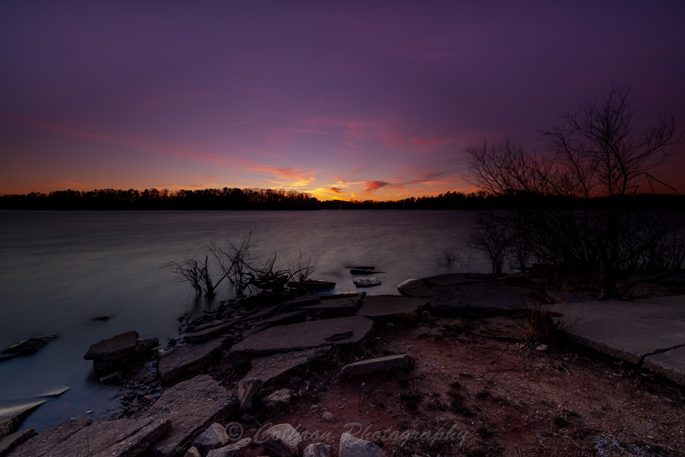 Holly Park Sunset by John Cothron