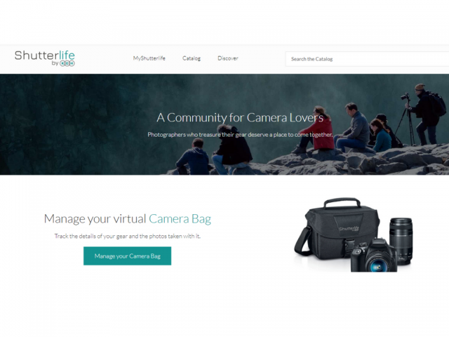Shutterlife by KEH : Build Your Virtual Camera Bag