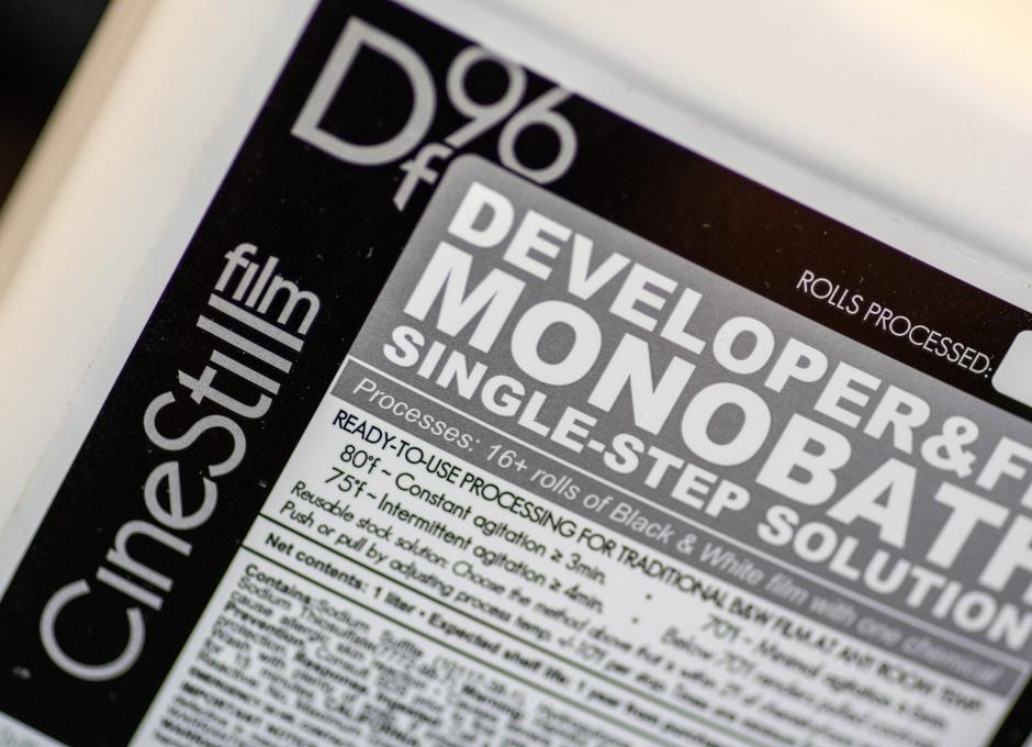 First Time Developer with Cinestill Df96 Monobath