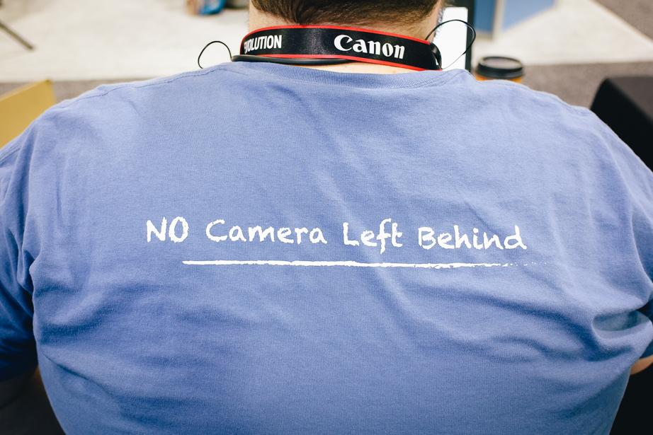 KEH Camera Shirts at Imaging USA 2019