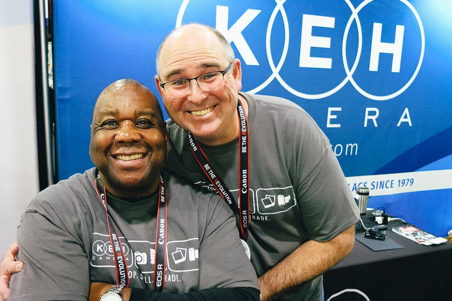 KEH Camera Staff at Imaging USA 2019