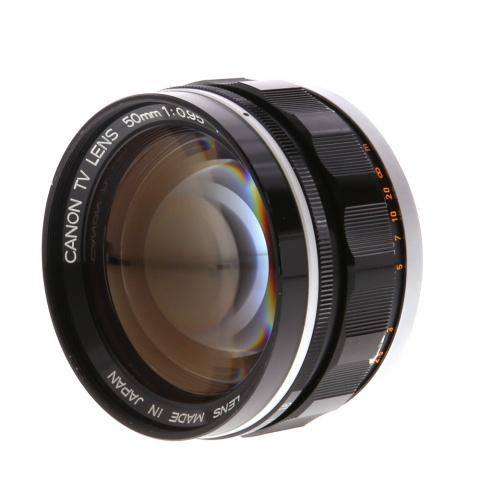 Canon 50mm f/0.95 Dream Lens