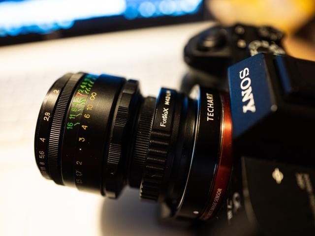 Film Meets Digital: TECHART LM-EA7 Vintage Lens to Digital Adaptall