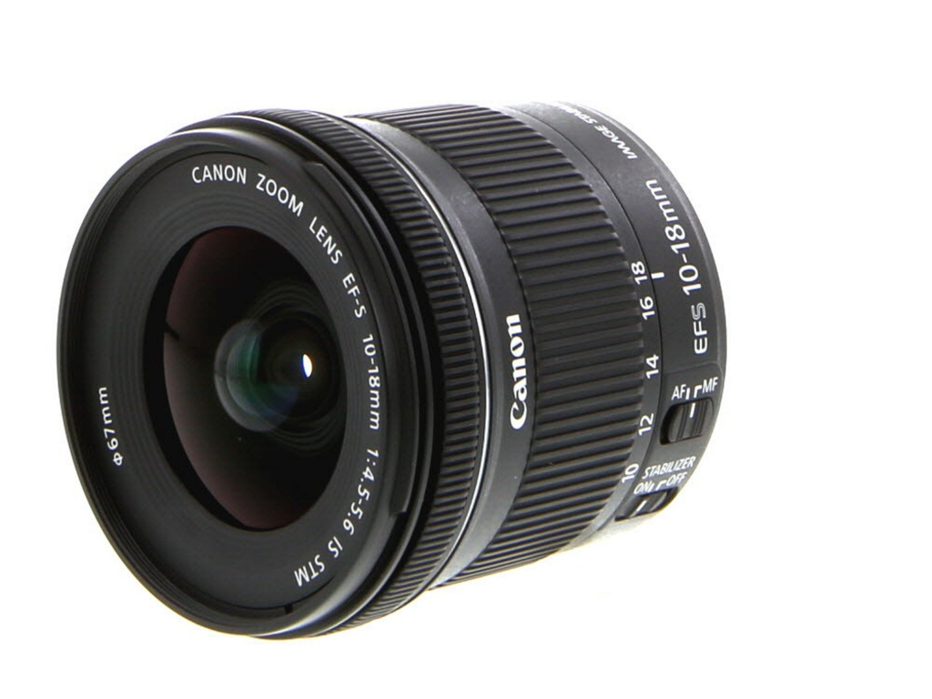 Canon 10-18mm F/4.5-5.6 IS STM EF-S Mount Lens For APS-C Sensor DSLRs
