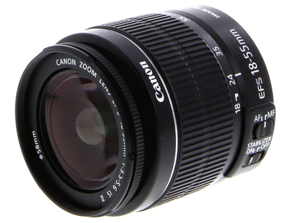 Canon 18-55mm F/3.5-5.6 IS Macro EF-S Mount Lens For APS-C DSLRs