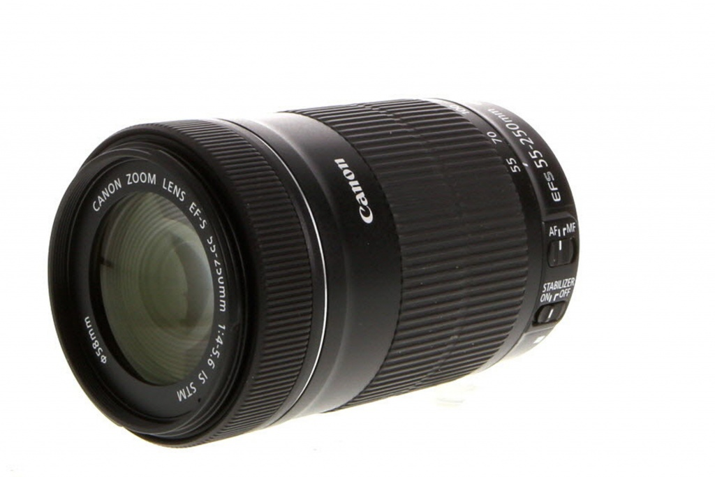 Canon 55-250mm F/4-5.6 IS STM EF-S Mount Lens For APS-C DSLRs