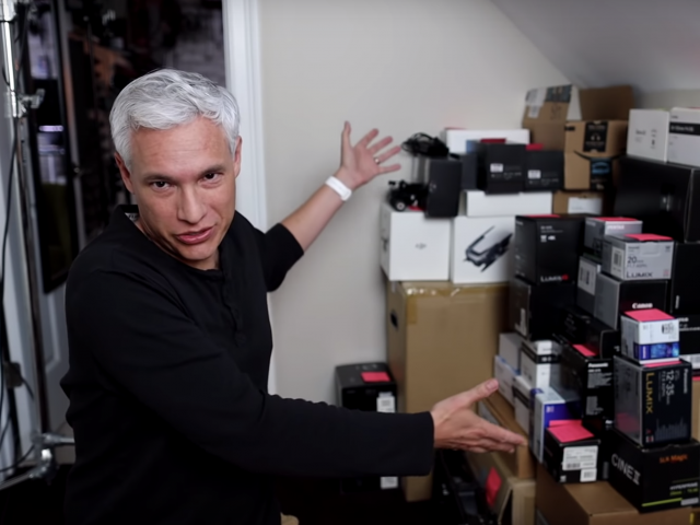 Watch Tony Northrup Get Ready To Sell His Gear To KEH Camera