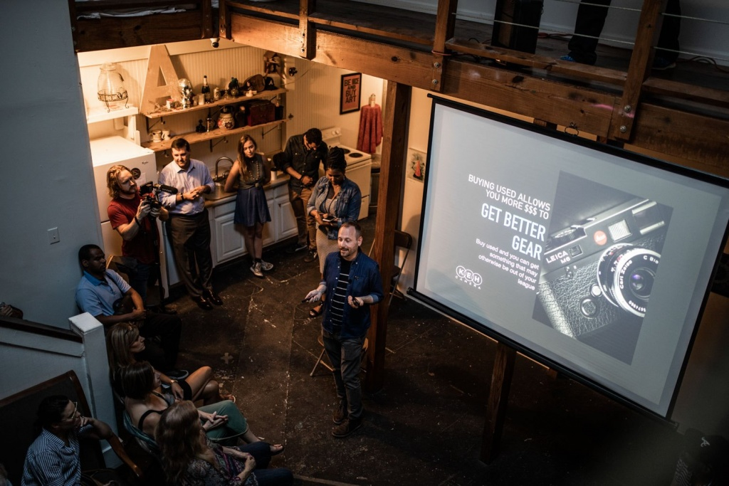 Get A Taste Of The Action At The KEH-Sponsored ATL Photo Night