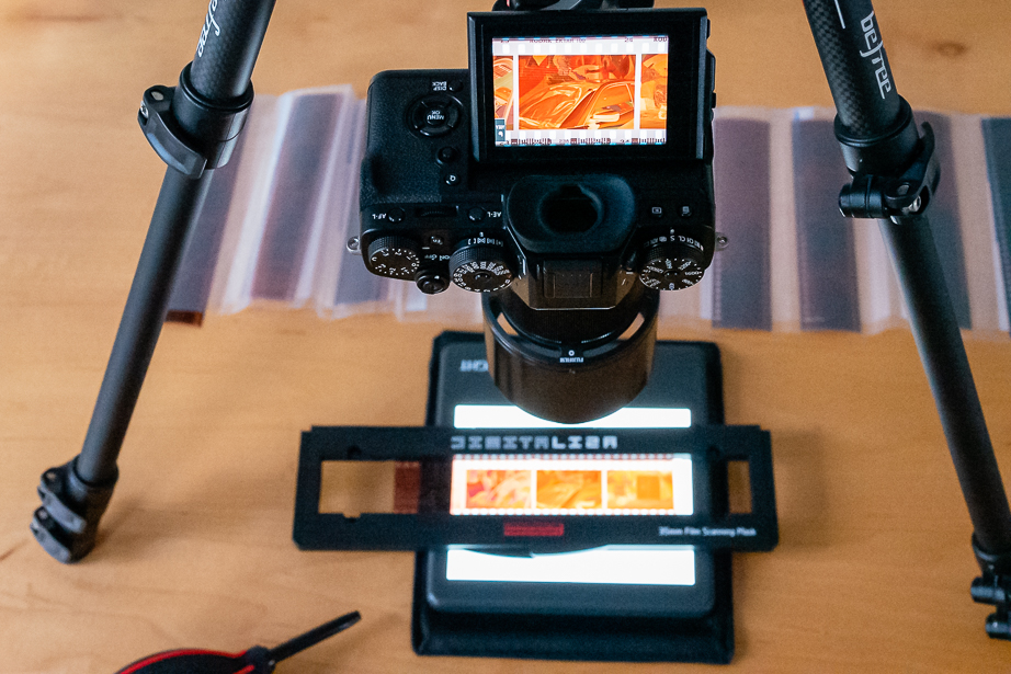 How To Scan Negatives With A Digital Camera